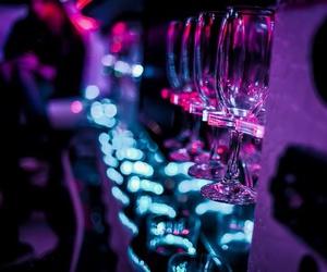 шампанское, ночь, and неон image
