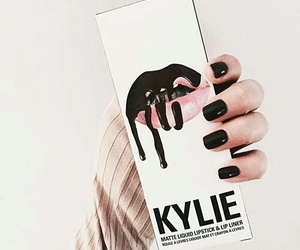 kylie, makeup, and nails image