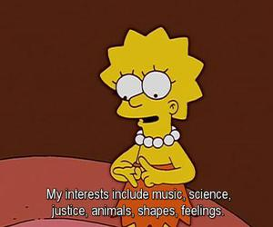 the simpsons, lisa, and lisa simpson image