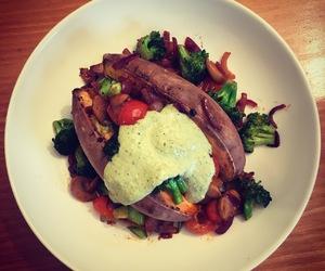 food, vegan, and vegetarian image