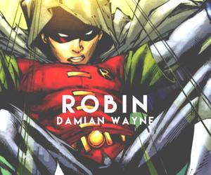 robin and damian wayne image
