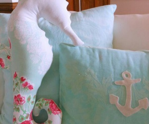 anchor, decor, and flower image