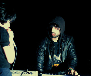 Alice Glass, Crystal Castles, and ethan kath image
