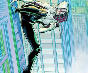 Marvel, spider man, and spider gwen image