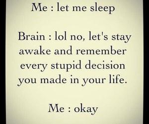 sleep, brain, and quotes image