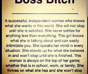 independent, success, and stand on her own image