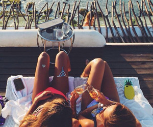chill, friendship, and relax image
