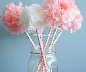 centerpiece, etsy, and paper flower image