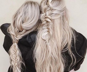 babes, blonde, and silver image