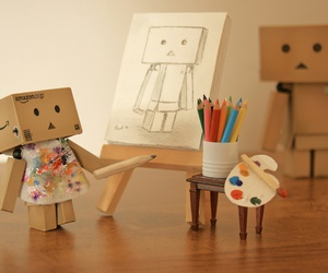 art, robot, and artistic image
