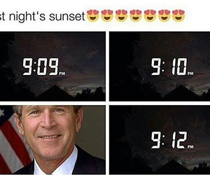 america, funny, and george bush image