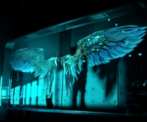 angel, fallen, and lucifer image