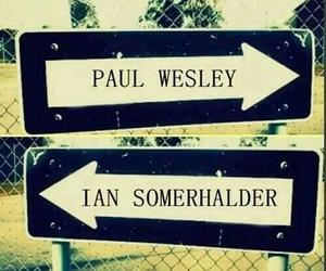 paul wesley, ian somerhalder, and the vampire diaries image