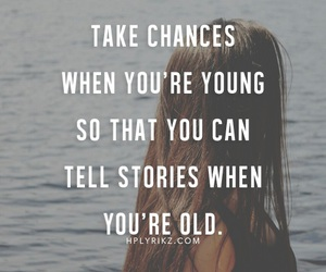 young, chance, and old image
