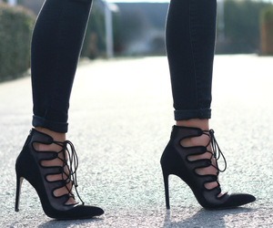 blogger, shoes, and fashion image