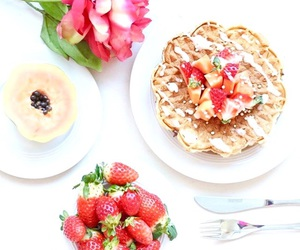 flower, food, and fruit image