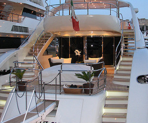 luxury, yacht, and beautiful image