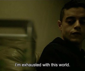quotes, mr robot, and grunge image