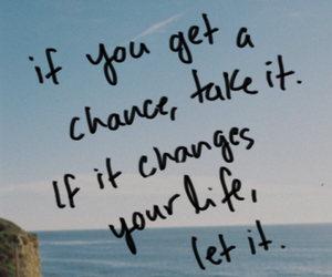 quote, chance, and change image
