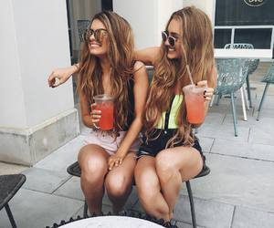 fun, sister, and friends image
