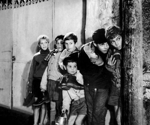 enfants, Noir&Blanc, and french movie image