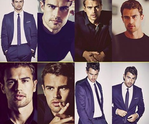 theo james and theo james hugo boss image