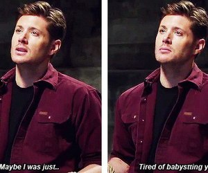dean, demon, and babysitting image