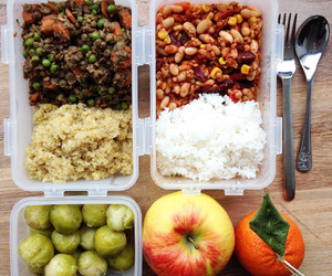food, beans, and healthy image