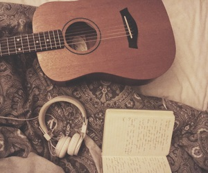 acoustic, band, and headphones image