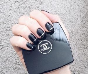 chanel, fashion, and nail image