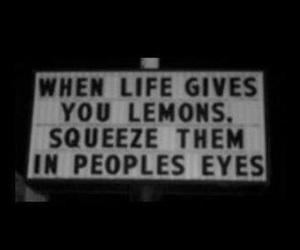 lemon, quotes, and life image