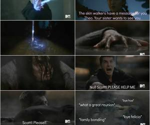 final, funny, and teen wolf image
