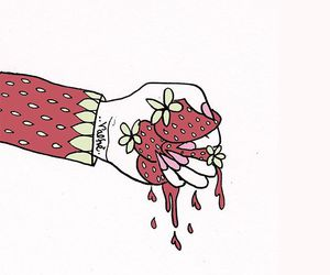 valfre, strawberry, and aesthetic image
