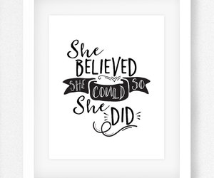 black and white, etsy, and wall art print image
