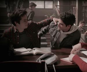 teen wolf, scott mccall, and stiles stilinski image