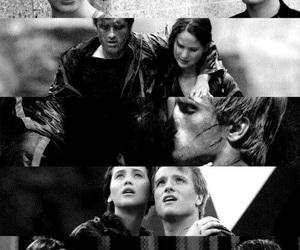the hunger games, katniss everdeen, and peeta mellark image