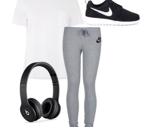 beautiful, nike, and outfit image