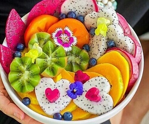 fruit, décoration, and food image