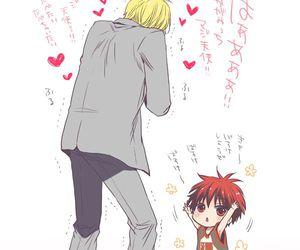 kagami, kuroko no basket, and cute image