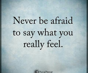afraid, be, and feel image