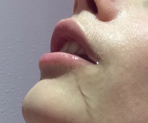 aesthetic, mouth, and grungr image