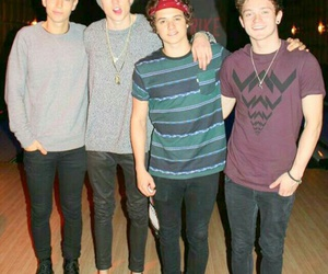 band, my boys, and tristan evans image