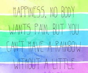 color, rainbow, and quote image