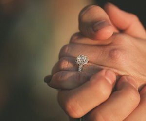 ring, love, and couple image