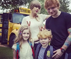Taylor Swift, ed sheeran, and everything has changed image