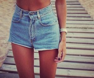 girl, skinny, and summer image