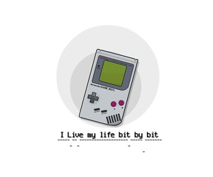 cool, gameboy, and quote image