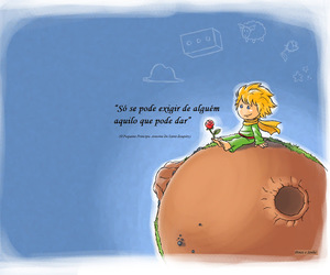frase, pequeno príncipe, and little prince image