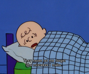 charlie brown, quote, and peanuts image