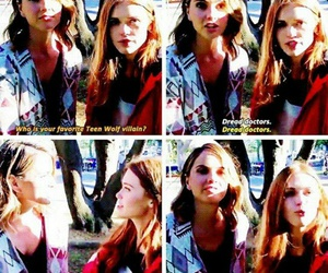 funny, teen wolf, and holland roden image